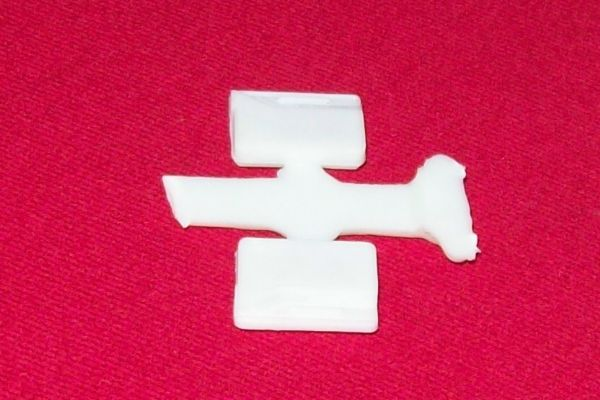 CORGI TOYS 246 Chrysler Imperial plastic door trim RIGHT HAND
